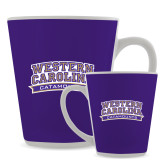 12oz Ceramic Latte Mug-Western Carolina Catamounts