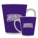 Full Color Latte Mug 12oz-Western Carolina Catamounts