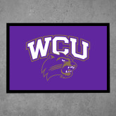 Full Color Indoor Floor Mat-WCU w/Head