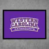 Full Color Indoor Floor Mat-Western Carolina Catamounts