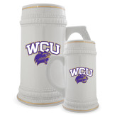 Full Color Decorative Ceramic Mug 22oz-WCU w/Head