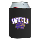 Collapsible Black Can Holder-WCU w/Head