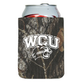 Collapsible Mossy Oak Camo Can Holder-WCU w/Head