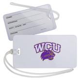 Luggage Tag-WCU w/Head