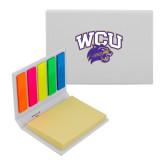Micro Sticky Book-WCU w/Head