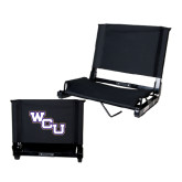 Stadium Chair Black-WCU