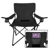 Deluxe Black Captains Chair-WCU w/Head