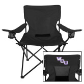 Deluxe Black Captains Chair-WCU