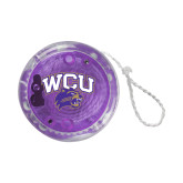 Light Up Purple YoYo-WCU w/Head