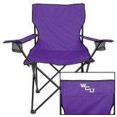 Deluxe Purple Captains Chair-WCU