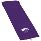 Purple Golf Towel-WCU w/Head