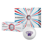 Callaway Supersoft Golf Balls 12/pkg-WCU w/Head