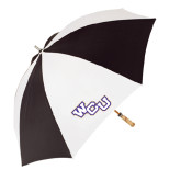 62 Inch Black/White Umbrella-WCU