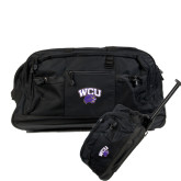 Urban Passage Wheeled Black Duffel-WCU w/Head