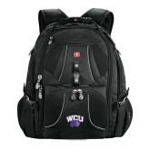Wenger Swiss Army Mega Black Compu Backpack-WCU w/Head