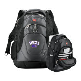 Wenger Swiss Army Tech Charcoal Compu Backpack-WCU w/Head
