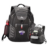 High Sierra Big Wig Black Compu Backpack-WCU w/Head