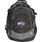 High Sierra Black Fat Boy Day Pack-WCU w/Head