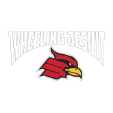 Medium Decal-Wheeling Jesuit, 8 inches wide