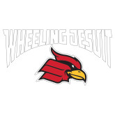 Extra Large Decal-Wheeling Jesuit, 18 inches wide