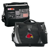 Slope Black/Grey Compu Messenger Bag-Cardinal