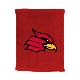 Red Rally Towel-Cardinal