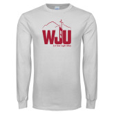 White Long Sleeve T Shirt-WJU