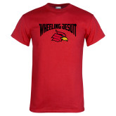 Red T Shirt-Wheeling Jesuit