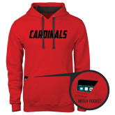 Contemporary Sofspun Red Hoodie-Cardinals