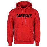 Red Fleece Hoodie-Cardinals