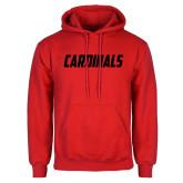 Red Fleece Hoodie-Cardinals