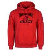 Red Fleece Hoodie-Wheeling Jesuit Athletics