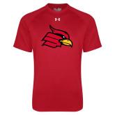 Under Armour Red Tech Tee-Cardinal