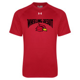 Under Armour Red Tech Tee-Wheeling Jesuit