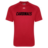 Under Armour Red Tech Tee-Cardinals