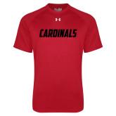 Under Armour Red Tech Tee-Cardinals