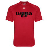 Under Armour Red Tech Tee-Rugby