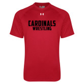 Under Armour Red Tech Tee-Wrestling