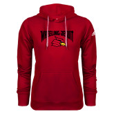 Adidas Climawarm Red Team Issue Hoodie-Wheeling Jesuit