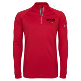Under Armour Red Tech 1/4 Zip Performance Shirt-Wheeling Jesuit