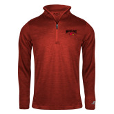 Russell Red Heather 1/4 Zip-Wheeling Jesuit