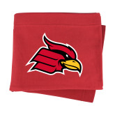 Red Sweatshirt Blanket-Cardinal