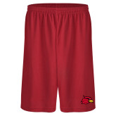 Performance Classic Red 9 Inch Short-Cardinal