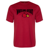 Syntrel Performance Red Tee-Wheeling Jesuit
