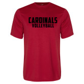 Syntrel Performance Red Tee-Volleyball