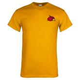 Gold T Shirt-Cardinal