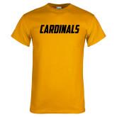 Gold T Shirt-Cardinals