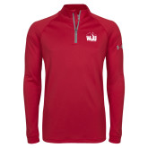 Under Armour Cardinal Tech 1/4 Zip Performance Shirt-WJU