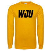 Gold Long Sleeve T Shirt-WJU