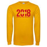Gold Long Sleeve T Shirt-Class of Design
